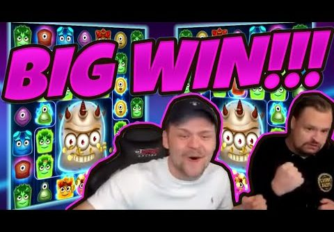 BIG WIN!!! Reactoonz Big Win – Casino Games from CasinoDaddy LIVE STREAM