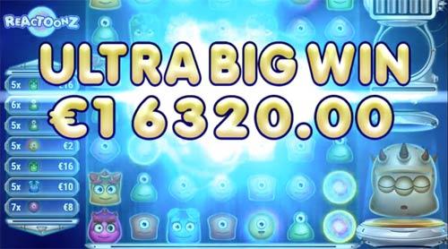 Reactoonz Ultra Big Win