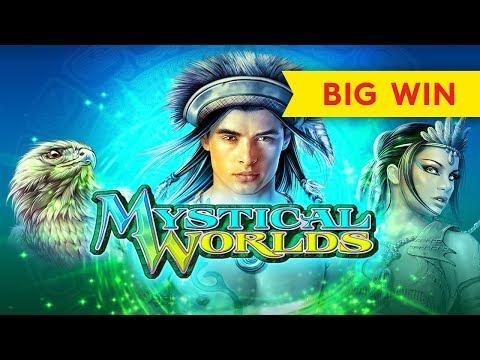 Mystical Worlds Slot – BIG WIN BONUS, AWESOME!