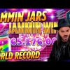 ROSHTEIN  win 75.000 € New World Record Jammin Jars slot – Top 5 Best Wins on Push Gaming