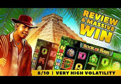 """Book Of Maya Slot Review + """"MEGA WIN!"""""""