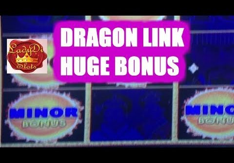 ❤😍  *4 Progressive Jackpots * *Dragon Link* Bonuses  *HUGE WIN*