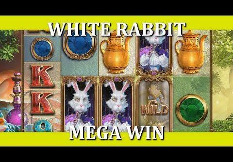 MEGA WIN – WHITE RABBIT – NEW BTG SLOT!!
