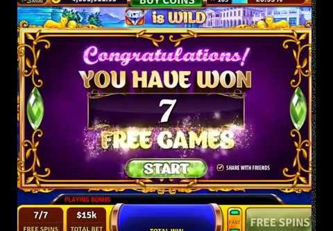 Kitty Gems FREE SPINS MEGA WIN!!!! – House of Fun slots