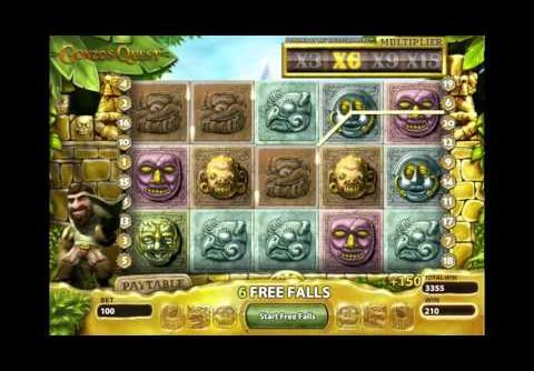 Online Slots Free Spins & £23,410 Mega Big Win | Gonzo's Quest