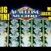 SPARKLING NIGHTLIFE Slot – BIG WIN! – MEGA PROGRESSIVE WIN! – Slot Machine Bonus