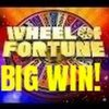 BIG WIN! WHEEL OF FORTUNE SLOT MACHINE- BONUSES!
