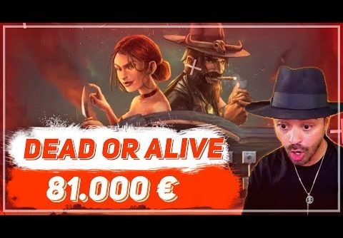🏆 Dead or Alive 2 Slot – Record Win 81.000€ | TOP 5 WINS OF THE WEEK