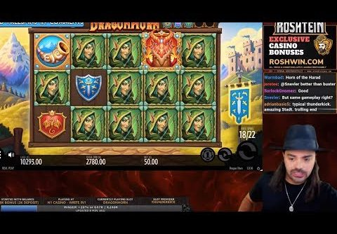 ROSHTEIN HUGE WIN 25.000€ ON NEW SLOT – Top 5 Biggest Wins of week