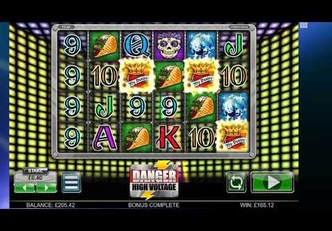 Danger High Voltage Online Slot – 40P – SUPER MEGA WIN!