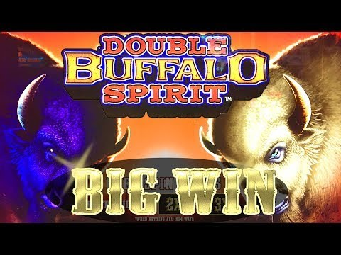 Double Buffalo Spirit – BIG WIN – Slot Machine Mega Bonus