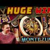 HUGE WIN on Montezuma Slot (FINALLY) – £4.50 Bet