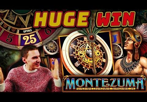 HUGE WIN on Montezuma Slot (FINALLY) – £4.50 Bet
