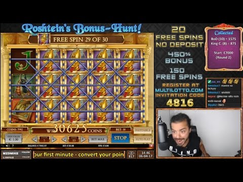 €30000 NEW RECORD WIN ON BOOK OF DEAD! (online slot)