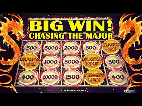 🤑BIG WIN!🤑 – DRAGON LINK SLOT 🐲 – CHASING THE MAJOR! – Slot Machine Bonus