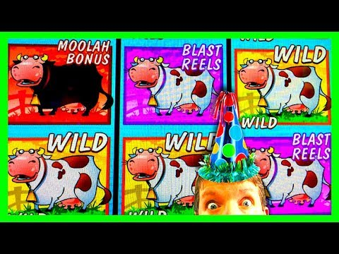 BRENT GETS A SUPER BIG WIN!! PLANET MOOLAH (MAX BET!!!)  Slot Machine Bonus Win Videos