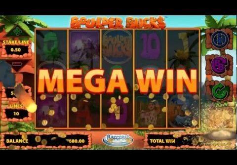 Big Slot Win – Boulder Bucks slot Mega Win