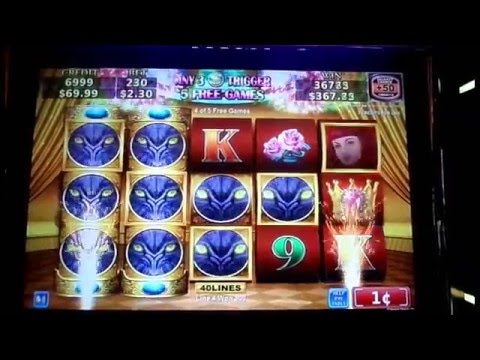 "1st & 2nd REEL WILD – MEGA WIN** / ""GORGEOUS CAT"" Slot Machine"