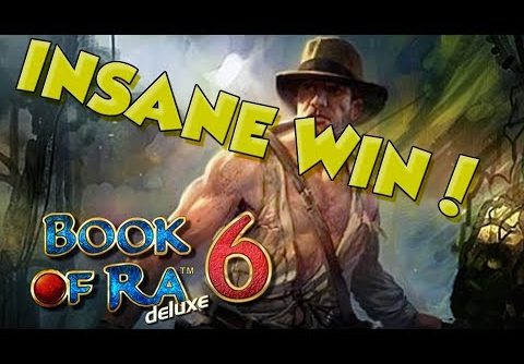 BIG WIN!!!! Book of Ra 6 – Casino – Bonus Round (Casino Slots)