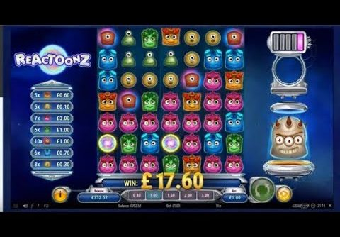 Online Slots – Reactoonz all of my biggest wins (BIG WIN)