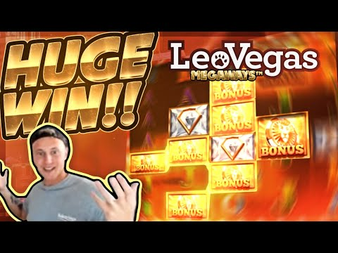 HUGE WIN!!! LeoVegas Megaways Big WIN!! Casino Games from CasinoDaddy Live Stream