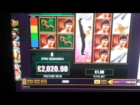 BRUCE LEE SLOT GIGANTIC RECORD WIN.3036 X STAKE!!!