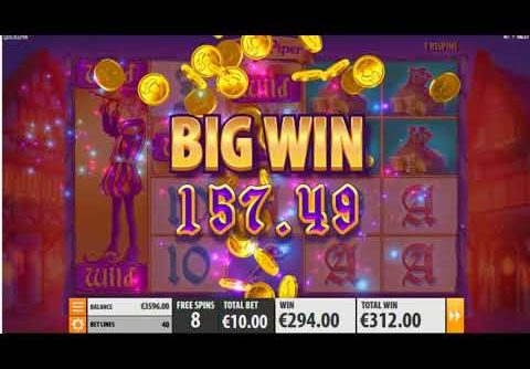 MEGA WIN On Pied Piper Slot Machine from Quickspin