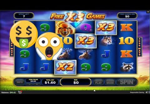 Buffalo Blitz BIG WIN Online Slot! Buffalo Blitz free spins. Online slot.