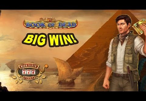 BIG WIN on Book of Dead Slot – £10 Bet!