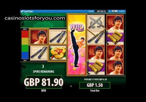 Bruce Lee Slot Bonus MEGA Win