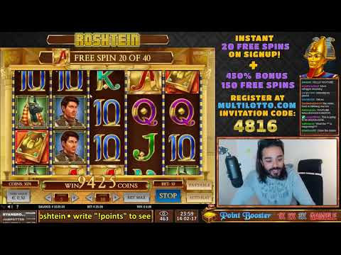 RECORD WIN ON BOOK OF DEAD ONLINE CASINO SLOT!