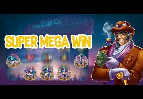 Cazino Zeppelin Super Mega Big Win – £2 Bet – Yggdrasil Online Slot
