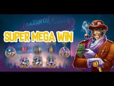 Cazino Zeppelin Super Mega Big Win – £2 Bet – Yggdrasil Online Slot