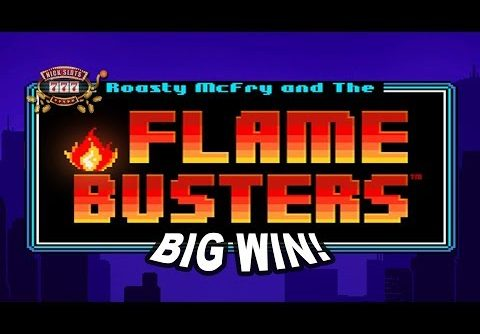 BIG WIN on Flame Busters Slot – £5 Bet!