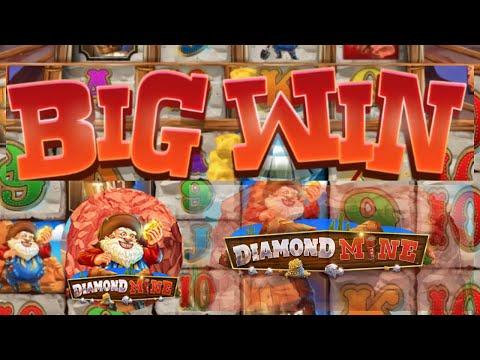 Epic Mega Win on Diamond Mine Slot Bonanza Clone | Blueprint
