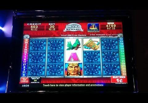 SUPER BIG WIN – Mayan Chief Slot Machine Bonus – 200+ Spins