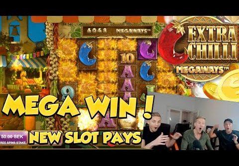 MEGA WIN?! *NEW SLOT* Bonanza 2 – Extra Chilli – Casino Slots – Free spins