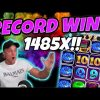 RECORD WIN!!! Donuts Big win – Casino – Huge win on Online slots