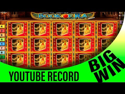 TOP 5 BIGGEST WIN ON BOOK OF RA SLOT JACKPOT RECORD WIN!!!