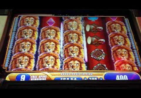 King of Africa Slot Machine – $2 Bet Bonus Mega Win