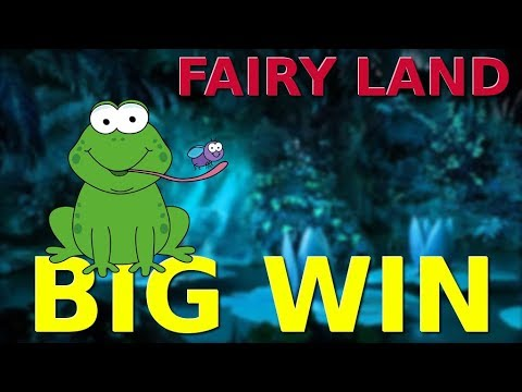 Big win slot machine FAIRY LAND (mobile version)