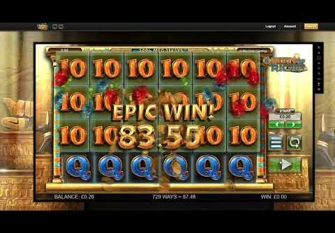 Big Wins on Queen of Riches Slot | Big Time Gaming