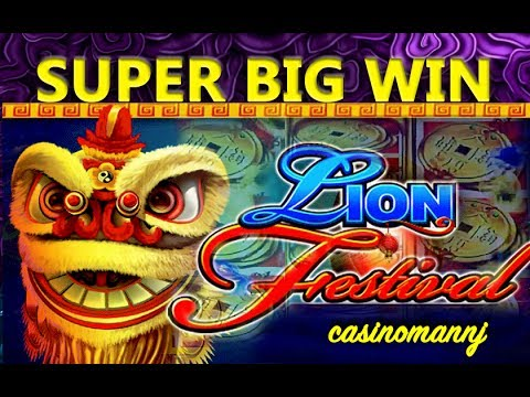*SUPER BIG WIN* – LION FESTIVAL SLOT – MULTI-SPINNING & WINNING! – Slot Machine Bonus