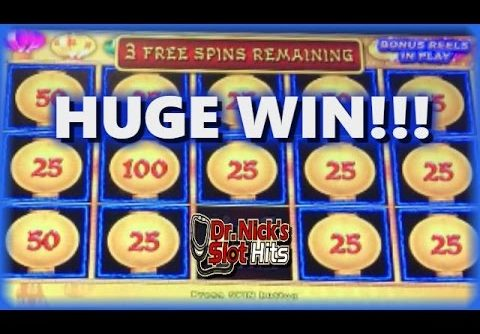 **HUGE WIN!!!** Lightning Link Slot Machine