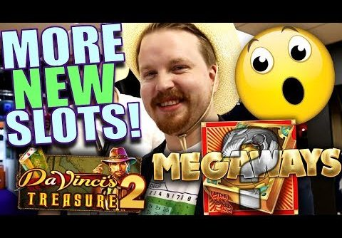 Book of Megaways + Da Vinci's Treasure 2!? 😱 – New slots ICE 2019 | Vlog 37