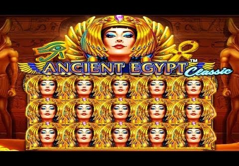 New slot – Pragmatic Play & Ancient Egypt Classic MEGA WIN! MAX BET