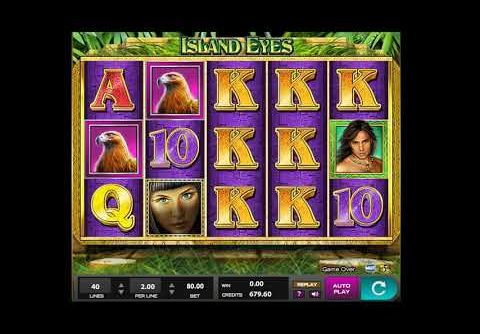 Island Eyes Slot Machine – Winning at online casino! MEGA WIN!