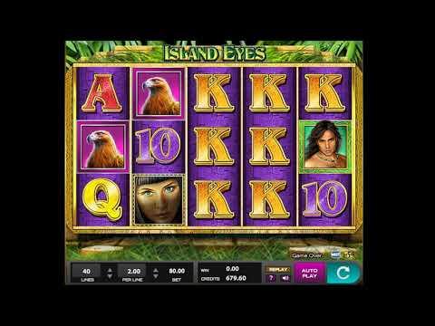 Island Eyes Slot Machine – Winning at online casino! MEGA WIN!