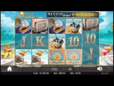 MEGA FORTUNE DREAMS Big Win 20.000 € MAX BET Mobile slot Free Games