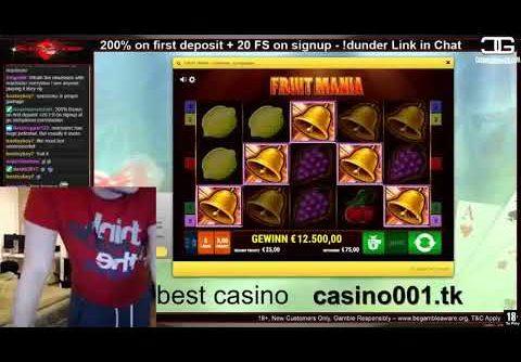 Very big win slot machine